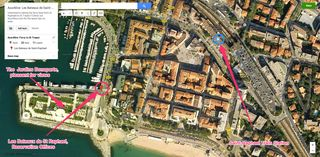 Bateaux St Raph Map