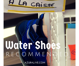 Water Shoes for the French Riviera