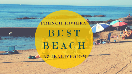French Riviera Best Beach near Saint-Raphael